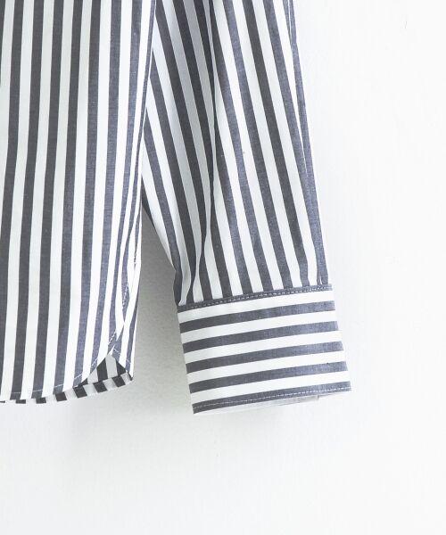 le.coeur blanc / ルクールブラン シャツ・ブラウス | 抜け衿ショールカラーシャツ | 詳細3