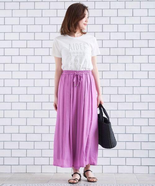 le.coeur blanc / ルクールブラン Tシャツ | メタリックプリントTシャツ | 詳細3