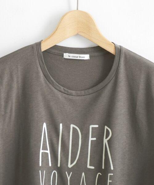 le.coeur blanc / ルクールブラン Tシャツ | メタリックプリントTシャツ | 詳細5