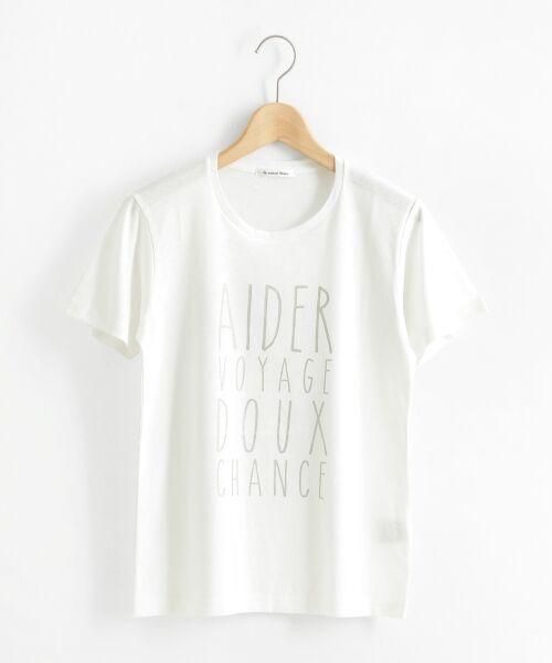 le.coeur blanc / ルクールブラン Tシャツ | メタリックプリントTシャツ | 詳細8