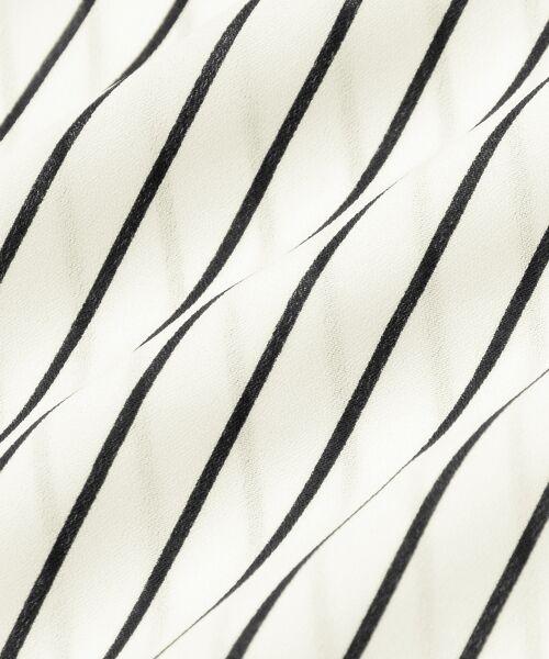 le.coeur blanc / ルクールブラン シャツ・ブラウス | バーボタンカシュクールブラウス | 詳細4