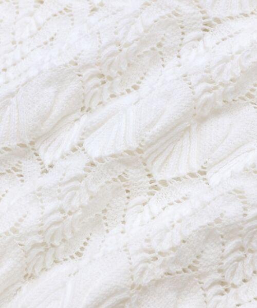 le.coeur blanc / ルクールブラン シャツ・ブラウス | バルファスレースVフレンチプルオーバー | 詳細4