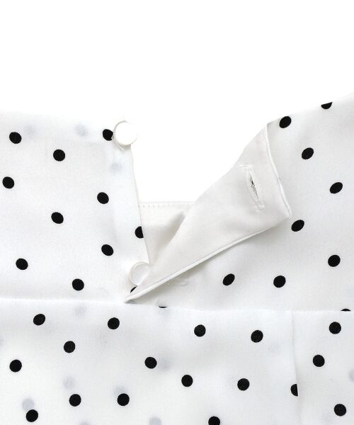le.coeur blanc / ルクールブラン シャツ・ブラウス | ドットボリュームスリーブブラウス | 詳細7