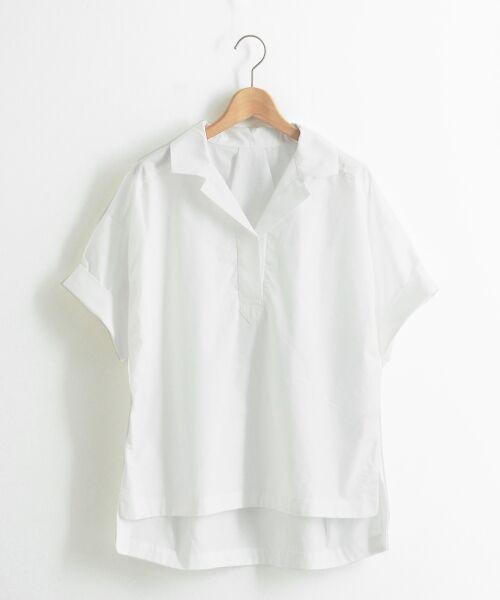 le.coeur blanc / ルクールブラン シャツ・ブラウス | 抜け襟オーバーシャツ | 詳細13