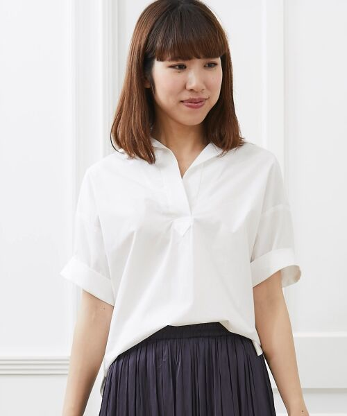 le.coeur blanc / ルクールブラン シャツ・ブラウス | 抜け襟オーバーシャツ | 詳細15