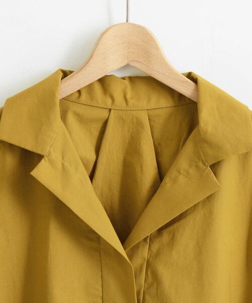 le.coeur blanc / ルクールブラン シャツ・ブラウス | 抜け襟オーバーシャツ | 詳細2