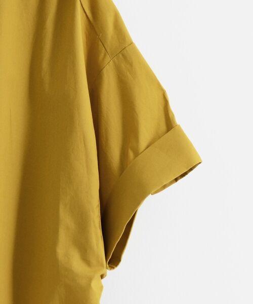 le.coeur blanc / ルクールブラン シャツ・ブラウス | 抜け襟オーバーシャツ | 詳細3
