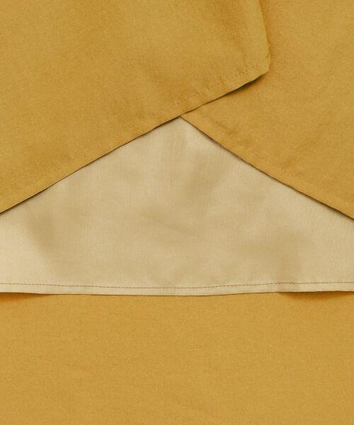 le.coeur blanc / ルクールブラン ロング・マキシ丈ワンピース | キーネックイレギュラーヘムワンピース | 詳細5