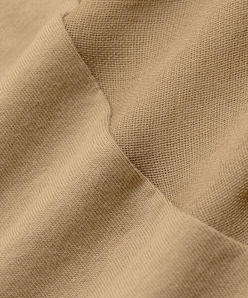 le.coeur blanc / ルクールブラン カットソー | カット×ガーゼボイル袖コンシャス6分袖 | 詳細7