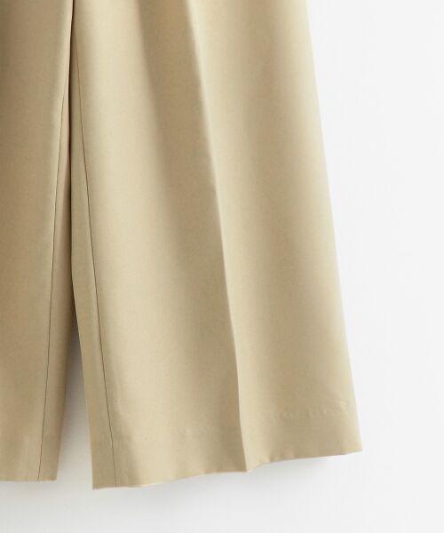 le.coeur blanc / ルクールブラン ショート・ハーフ・半端丈パンツ | ドットボタンクロップドワイドパンツ | 詳細22