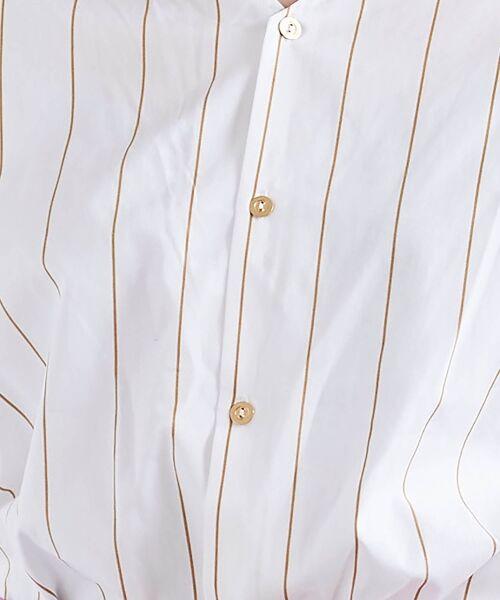 le.coeur blanc / ルクールブラン シャツ・ブラウス | 2wayVネックブラウス | 詳細19