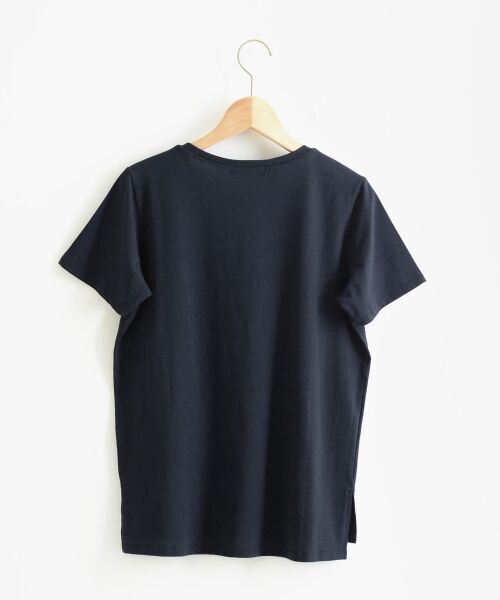 le.coeur blanc / ルクールブラン Tシャツ | VロゴプリントTシャツ | 詳細1