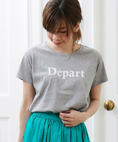 le.coeur blanc / ルクールブラン Tシャツ | クルーロゴプリントTシャツ | 詳細10