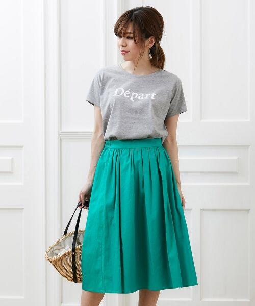 le.coeur blanc / ルクールブラン Tシャツ | クルーロゴプリントTシャツ | 詳細11