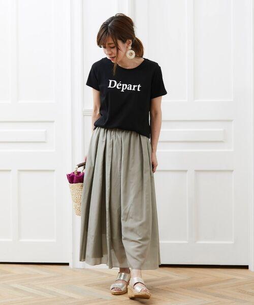 le.coeur blanc / ルクールブラン Tシャツ | クルーロゴプリントTシャツ | 詳細15