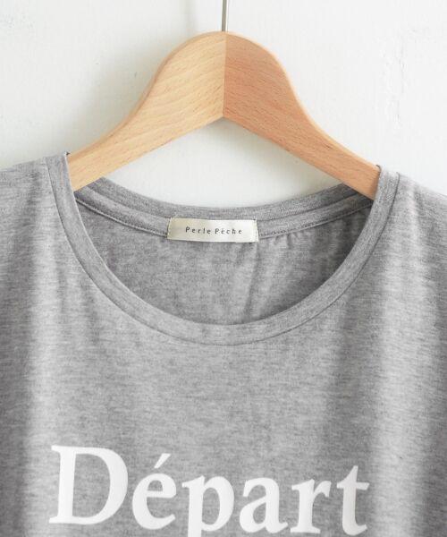 le.coeur blanc / ルクールブラン Tシャツ | クルーロゴプリントTシャツ | 詳細2