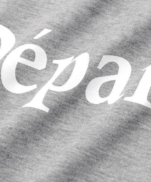 le.coeur blanc / ルクールブラン Tシャツ | クルーロゴプリントTシャツ | 詳細4