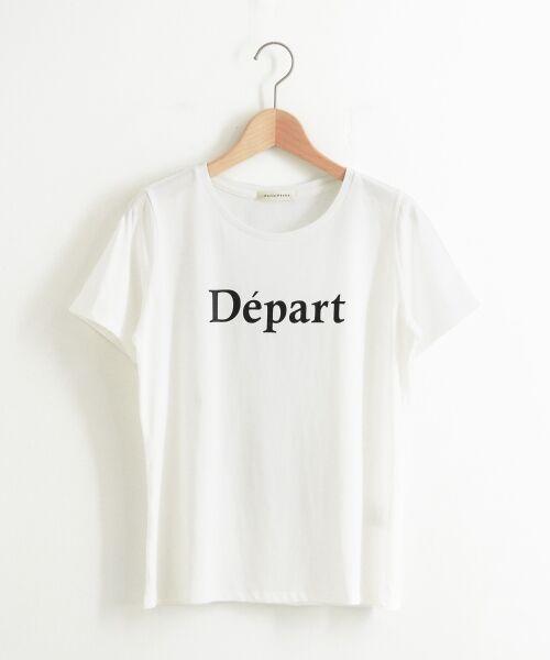 le.coeur blanc / ルクールブラン Tシャツ | クルーロゴプリントTシャツ | 詳細5