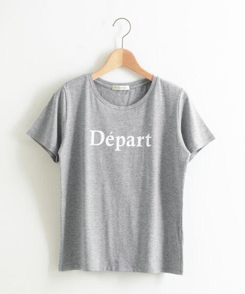le.coeur blanc / ルクールブラン Tシャツ | クルーロゴプリントTシャツ | 詳細9