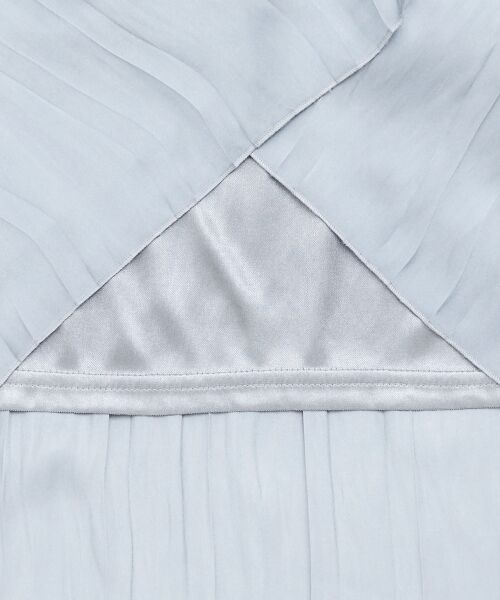 le.coeur blanc / ルクールブラン ロング・マキシ丈スカート   ヴィンテージサテンプリーツスカート   詳細4
