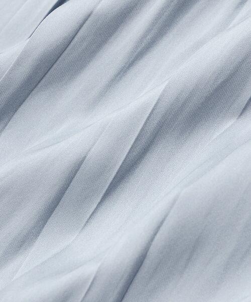 le.coeur blanc / ルクールブラン ロング・マキシ丈スカート   ヴィンテージサテンプリーツスカート   詳細5