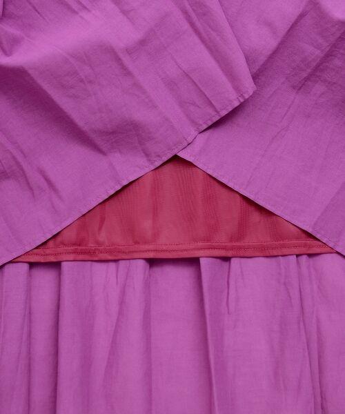 le.coeur blanc / ルクールブラン ロング・マキシ丈スカート | コットンティアードマキシスカート | 詳細23