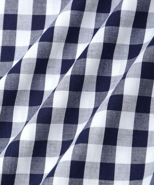 le.coeur blanc / ルクールブラン シャツ・ブラウス | ギンガムギャザーブラウス | 詳細5
