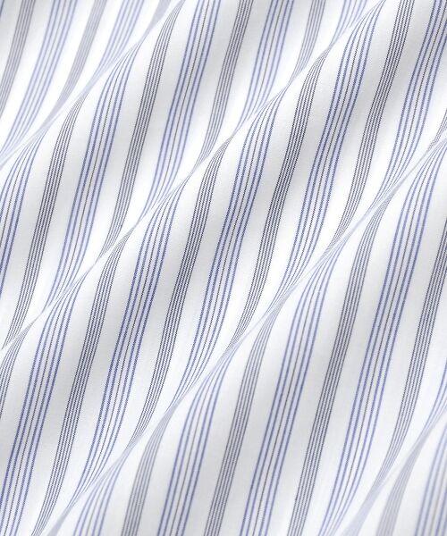 le.coeur blanc / ルクールブラン シャツ・ブラウス | キーネックストライプフレアーブラウス | 詳細17