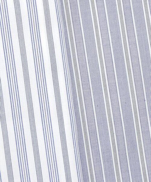 le.coeur blanc / ルクールブラン シャツ・ブラウス | キーネックストライプフレアーブラウス | 詳細18