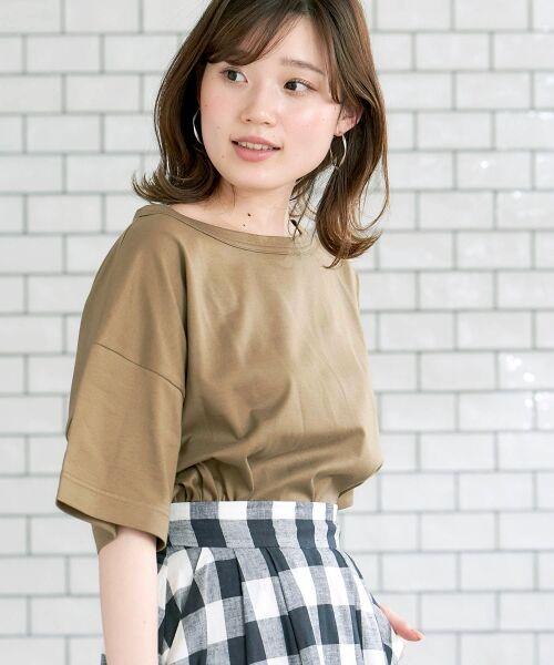 le.coeur blanc / ルクールブラン Tシャツ   BIG Tシャツ   詳細1