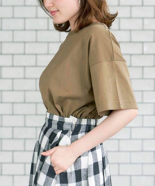 le.coeur blanc / ルクールブラン Tシャツ   BIG Tシャツ   詳細2