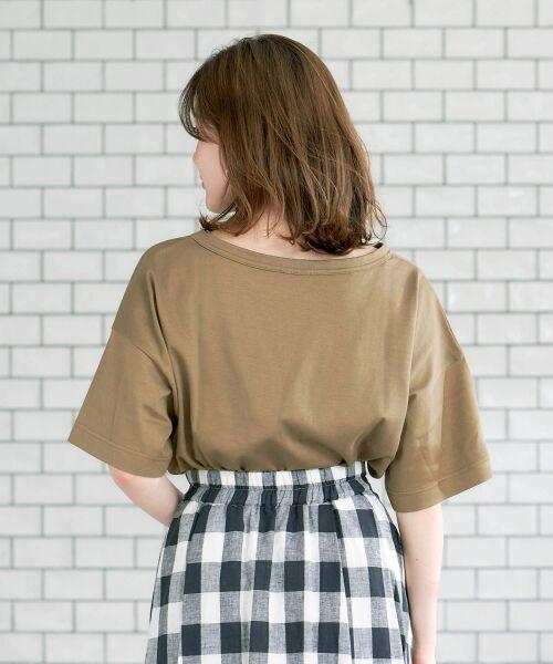 le.coeur blanc / ルクールブラン Tシャツ   BIG Tシャツ   詳細3