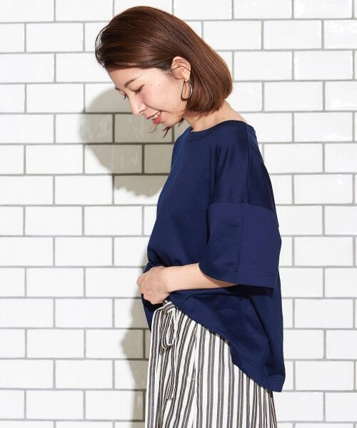 le.coeur blanc / ルクールブラン Tシャツ   BIG Tシャツ   詳細4