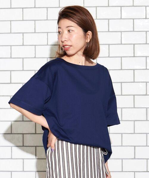 le.coeur blanc / ルクールブラン Tシャツ   BIG Tシャツ   詳細5