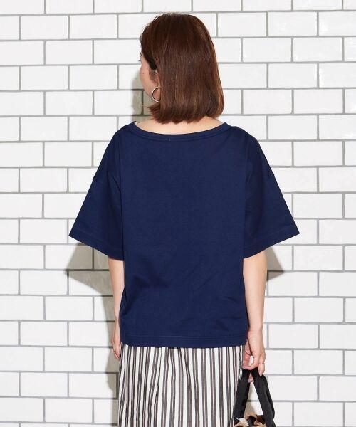 le.coeur blanc / ルクールブラン Tシャツ   BIG Tシャツ   詳細7
