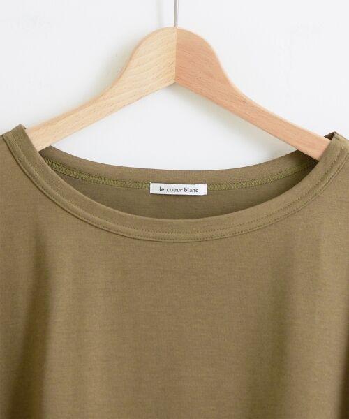 le.coeur blanc / ルクールブラン Tシャツ   BIG Tシャツ   詳細9