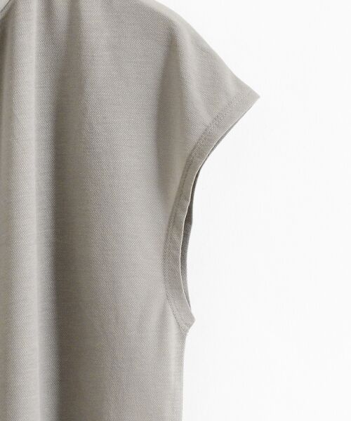le.coeur blanc / ルクールブラン カットソー | シアーツイルスタンドプルオーバー | 詳細15