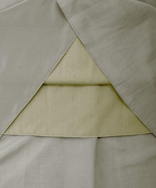 le.coeur blanc / ルクールブラン ロング・マキシ丈スカート | コットンシルクタックギャザーロングスカート | 詳細5