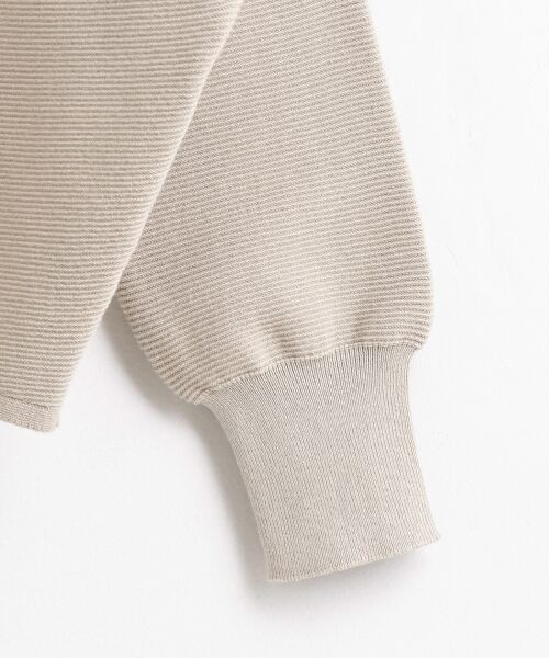 le.coeur blanc / ルクールブラン ニット・セーター | ボートネックコクーン長袖ニット | 詳細3