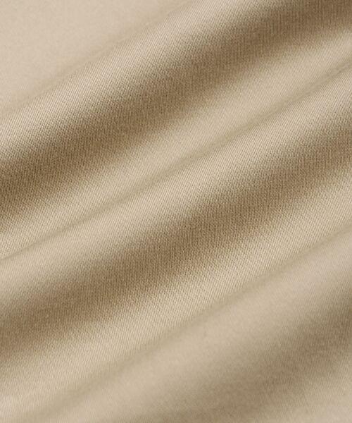 le.coeur blanc / ルクールブラン ミニ・ひざ丈スカート | コットンサテンラップライクタイトスカート | 詳細7