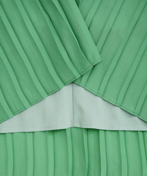 le.coeur blanc / ルクールブラン ロング・マキシ丈スカート | サイドプリーツマキシスカート | 詳細10