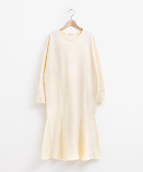 le.coeur blanc / ルクールブラン ロング・マキシ丈ワンピース | スエットフレアロングワンピース | 詳細6