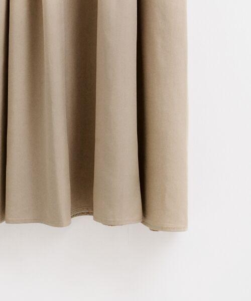 le.coeur blanc / ルクールブラン ロング・マキシ丈ワンピース | リヨセルオープンカラーワンピース | 詳細16