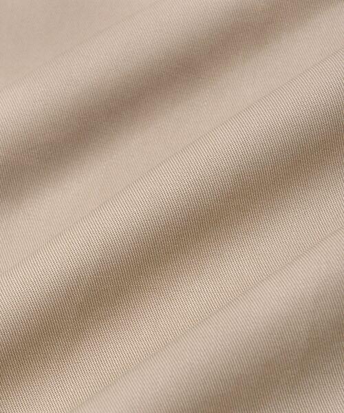 le.coeur blanc / ルクールブラン ロング・マキシ丈ワンピース | リヨセルオープンカラーワンピース | 詳細18
