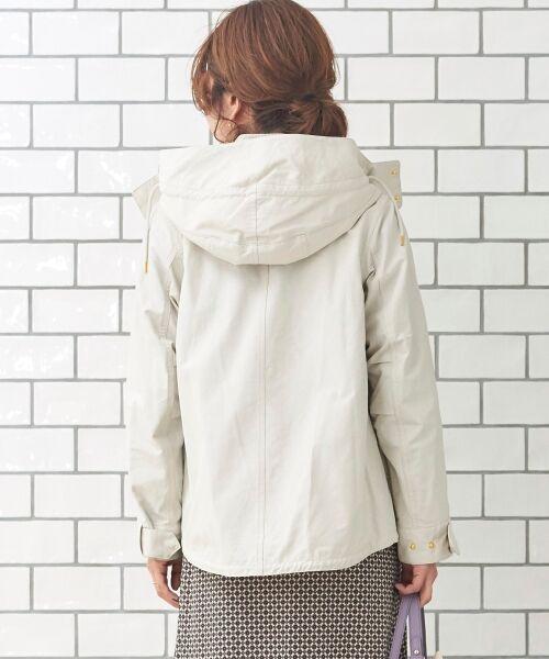 le.coeur blanc / ルクールブラン ブルゾン | ショートフードブルゾン | 詳細15