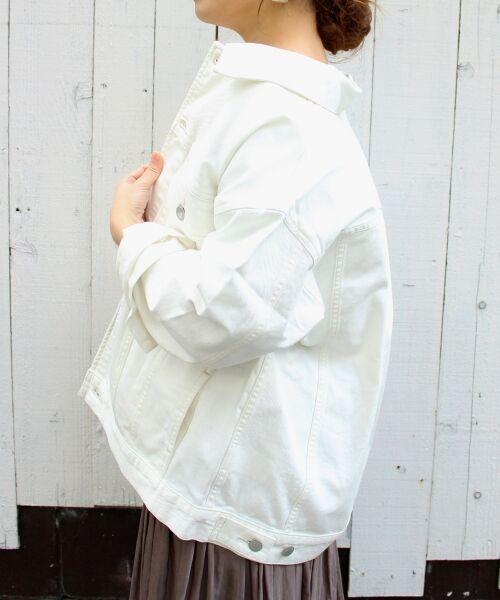 le.coeur blanc / ルクールブラン Gジャン・デニムジャケット | ルーズデニムジャケット | 詳細18