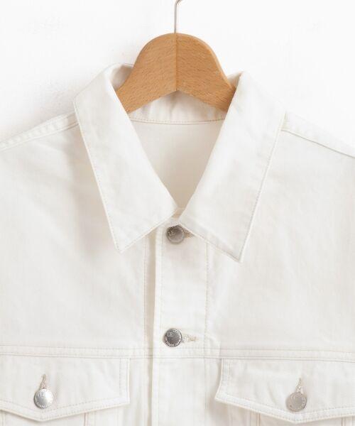 le.coeur blanc / ルクールブラン Gジャン・デニムジャケット | ルーズデニムジャケット | 詳細2
