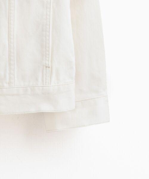 le.coeur blanc / ルクールブラン Gジャン・デニムジャケット | ルーズデニムジャケット | 詳細3