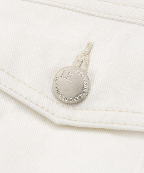 le.coeur blanc / ルクールブラン Gジャン・デニムジャケット | ルーズデニムジャケット | 詳細5