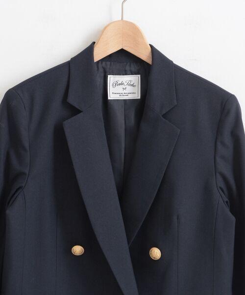 le.coeur blanc / ルクールブラン テーラードジャケット   テーラージャケット   詳細2